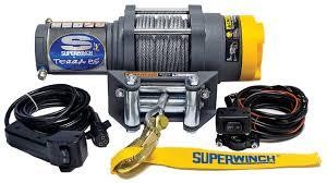 Can-Am Terra 35 Superwinch